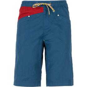 La Sportiva Bleauser Miehet Lyhyet housut , punainen/sininen